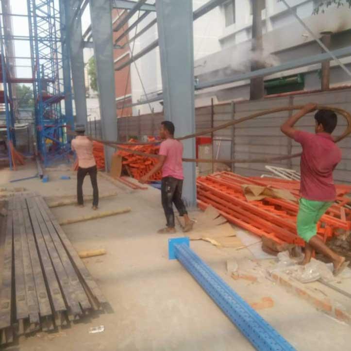 Debonair Group Rack System FG Warehouse